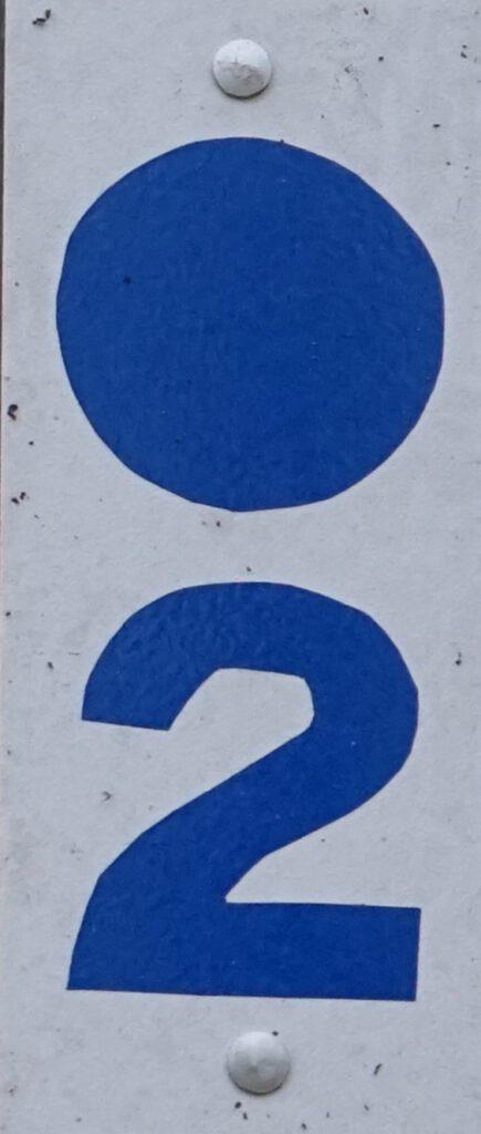 Taben-Rodt, Rundwanderweg2, Markierung