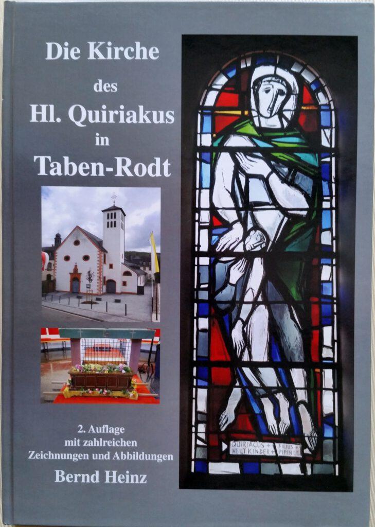Buch Die Kirche des Hl. Quiriakus in Taben-Rodt