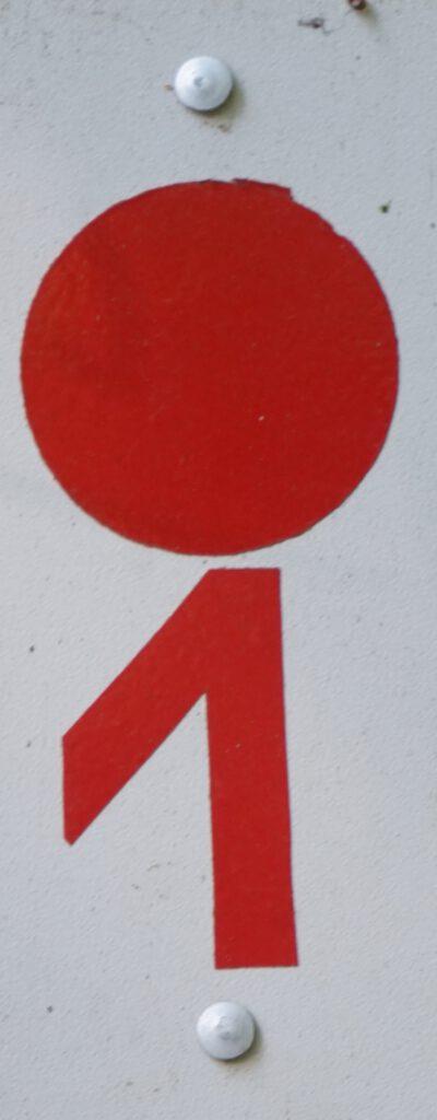 Taben-Rodt, Rundwanderwe17, Markierung