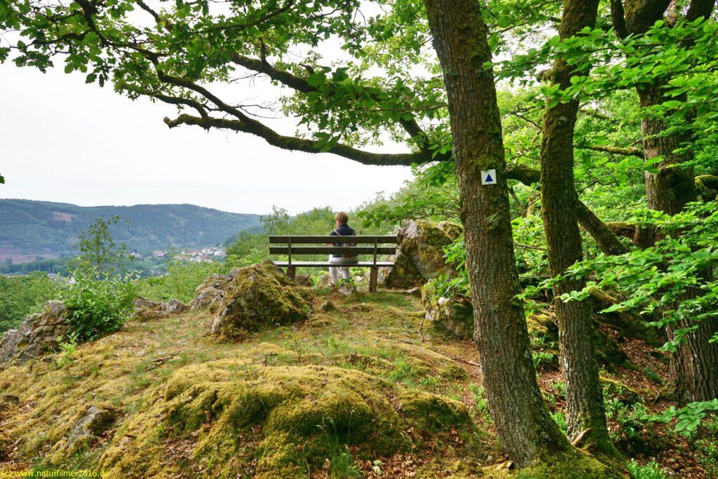 Taben-Rodt, Rundwanderweg Nr. 3, Aussichtspunkt Weissenfels