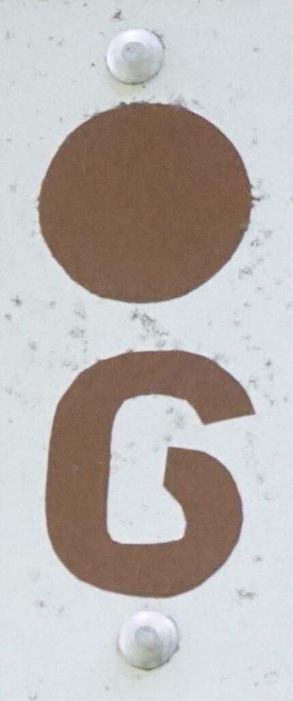 Taben-Rodt, Rundwanderweg 6, Markierung