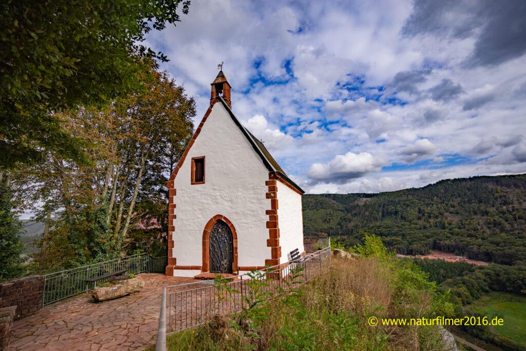 Michaelskapelle Taben-Rodt nach der Renovierung im Jahre 2021